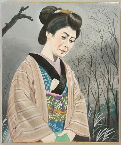 kabuki - Otsuta by kawarazaki Kunitaro by Hisashi Yamamoto 1910- ? - Auction - Japanese Prints and Kabuki Theater - 1430