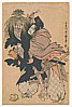 Utamaro Kitagawa 1750-1806 - Tadamori and Oil Priest