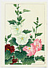 Hodo Nishimura active 1930s - Hollyhock (Muller Collection)