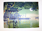Chen Yuqiang born 1938 - Autumn Moon on Calm Lake