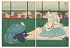 Hirosada Utagawa active ca. 1820-1860 - 47 Ronin - Kanadehon Chushingura