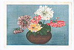 Taisui Inuzuka fl. 1920s - Dahlias (Muller Collection)