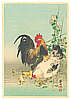 Sozan Ito 1884-? - Chicken Family  (Muller Collection)
