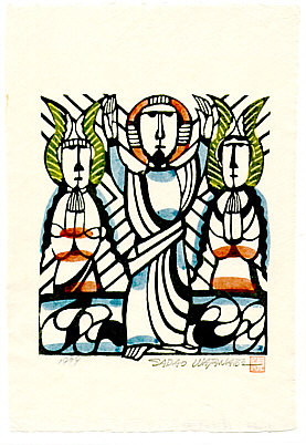 Sadao Watanabe 1913-1996 - Resurrection of Jesus - Story of the Bible