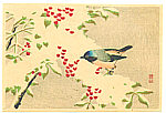 Sozan Ito 1884-? - Bird on Snow Covered Branch (Muller Collection)