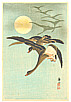 Sozan Ito 1884-? - Homing Geese (Muller Collection)
