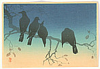 Hiroaki Takahashi 1871-1945 - Crows (Muller Collection)
