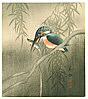 Biho Takahashi 1873-? - Kingfisher (Muller Collection)