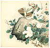 Chikuseki  active ca. 1900 - Sparrows and Camellia