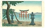 Gihachiro Okuyama 1907-1981 - Morning at Miyajima
