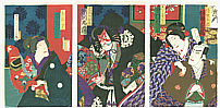 Chikashige Morikawa active ca. 1869-82 - Benkei