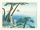 Tomikichiro Tokuriki 1902-1999 - Divers of Toba