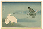 Utamaro Kitagawa 1750-1806 - Egrets and Cormorant (Muller Collection)
