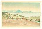 Sadanosuke Goto active in 1940s - Lake Biwa in Early Summer
