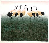 Hao Boyi born 1938 - Pond under the Sunset