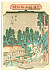 Hiroshige II Utagawa 1829-1869 - Tsuchiyama - Tokaido Gojusan Eki