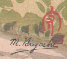 Signature: M. Hiyoshi
