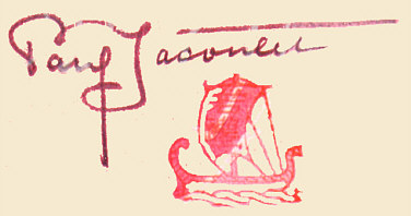 Signature: Paul Jacoulet